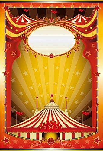 YongFoto 1,5 x 2,2 m foto achtergrond circus tent poster per poster theater bokeh Halos fonkelen gouden ster fotografie achtergrond fotoshooting portretfoto's party kinderen fotostudio rekwisieten