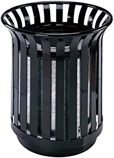 park style trash cans