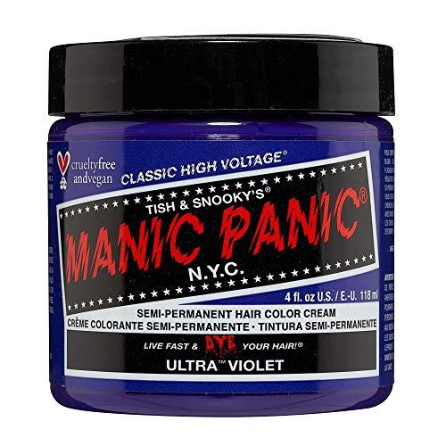 Manic Panic Haarfarbe, ultraviolett, blau