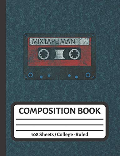 Mix Tape Man: Mixtape Planner for Vintage Music Addict