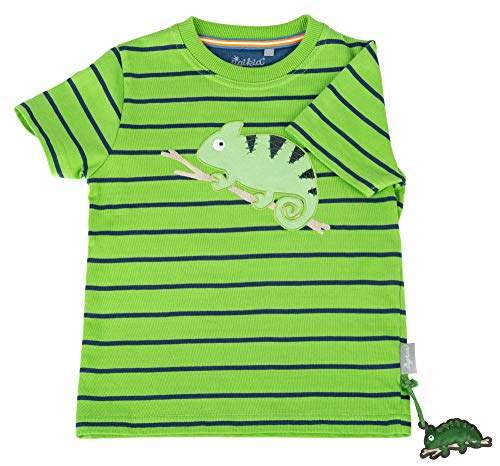 Sigikid Jungen, Mini T-Shirt, Grün (Cactus 315), (Herstellergröße: 122)