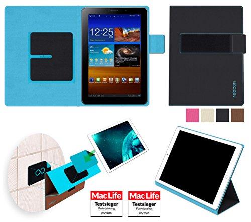 reboon Hülle für Samsung Galaxy Tab 7.7 Tasche Cover Hülle Bumper | Testsieger | Schwarz