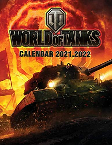 World Of Tanks: 2021 – 2022 Games Calendar – 18 months – High Quality Images