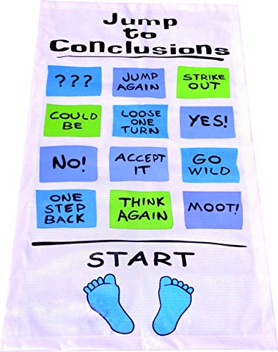 Initech Jump to Conclusions Mat Office Space 24 x 40 in.