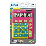 Milan 159906TMPBL - Calculadora, 10 dígitos, multicolor