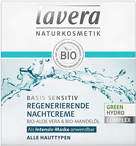 Lavera Bio basis sensitiv Regenerierende Nachtcreme (6 x 50 ml)