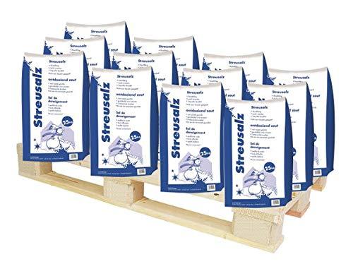 Hamann Streusalz 1000 kg (40 x 25 kg) - Langzeitwirkung bei dickeren Eis & Schneeschichten