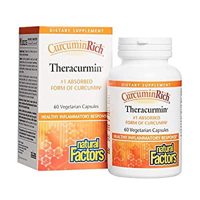 Natural Factors Curcumin Rich Turmeric Root (300mg, 60 Vegetarian Capsules)