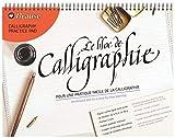 Brause 96442B - Bloc de Calligraphie A3 50 Feuilles Lignées 90 g Crème