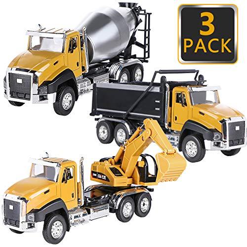 Latocos Camion Juguete Coches de Juguetes Tractor Garaje Coches Excavadora Carro Transporte...