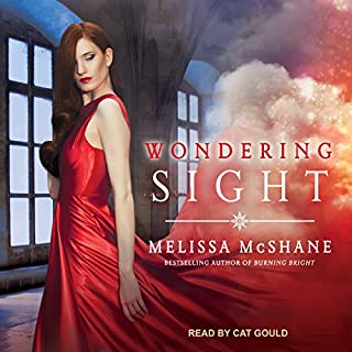 Wondering Sight     Extraordinaries Series, Book 2              By:                                                                                                                                 Melissa McShane                               Narrated by:                                                                                                                                 Cat Gould                      Length: 11 hrs and 16 mins     18 ratings     Overall 3.9