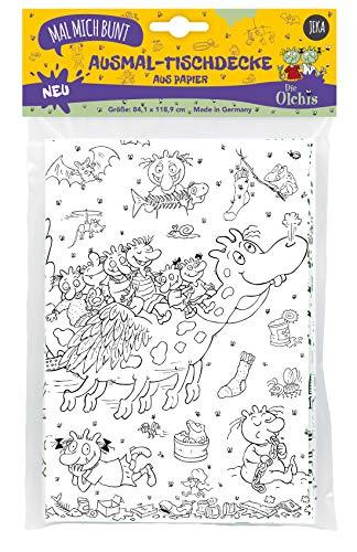 Ausmal-Tischdecke Olchis, Olchis Ausmalen für Kinder, Ausmalbilder Olchis, Olchis Spielzeug, Mal Mich Bunt