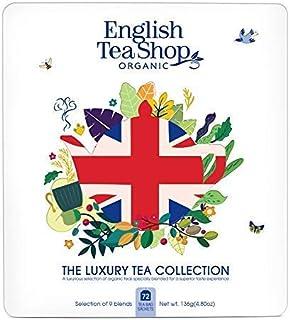DEU English Tea Shop Sammlung von Bio-Tees und klassischen Aromen Kräutertees - 1 x 72 Teebeutel 136 Gramm