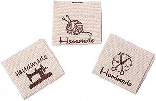TOSSPER 50 st bomullsetikett hantverk konst mode vävda band band tagg för kläder sömnad sy på kläder kläder tyg material