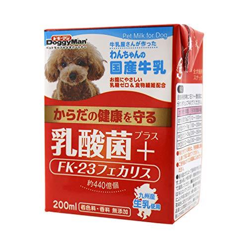 Doggyman(ドギーマンハヤシ)『わんちゃんの国産牛乳 乳酸菌プラス』