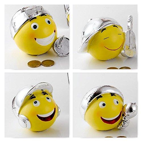 Hucha Resina Emoticon Emoji herramienta Musical