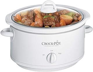 Crock-Pot 3735-WN 3-1/2クォート スロークッカー ホワイト