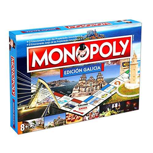 Eleven Force Monopoly Galicia (Spanish/Gallego), Blue (10223)