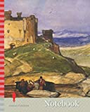 Notebook: Harlech Castle, 1830-40 John Sell Cotman, Landscape, Mountain, Watercolour, Castle, Seascape, Coast, Wales, Snowdonia, Works on Paper