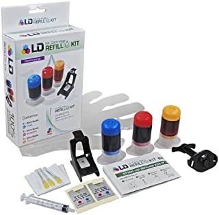 LD Ink Refill Kit for HP 22 C9352AN & C9352A (Color)