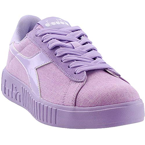 Diadora Womens Game Step Cv Lace Up Sneakers Shoes Casual - Purple - Size 8.5 B