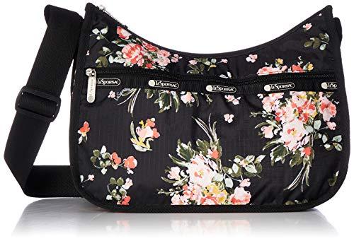 LeSportsac Classic Hobo Crossbody Handbag in Garden Rose