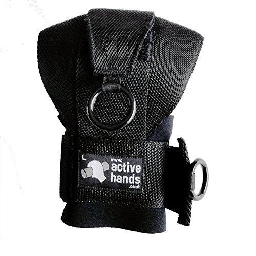 Guantes de agarre de  Active Hands para uso general - AH1, S, Negro 🔥