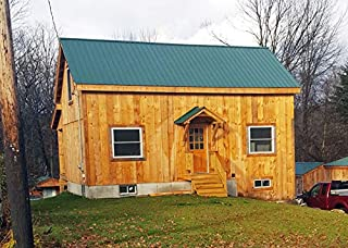 Mortise and Tenon Timber Frame - 20x30 Cabin with Full Loft - Step-By-Step DIY Plans