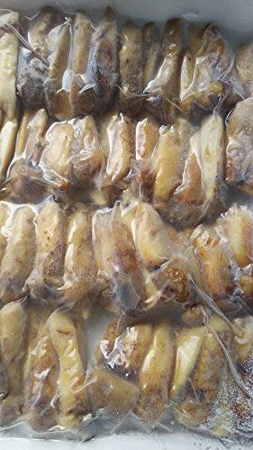 中国産 冷凍 松茸 タテ割り ( 4つ割 ) 3-5cm 250g 茶碗むし、土瓶蒸し等に便利