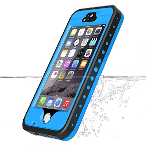 iPhone 5S/SE/5 Waterproof Case, Vcloo iPhone 5 Underwater Case, Dust Proof, Snow Proof, Shock Proof Case, Heavy Duty Protective Carrying Cover Case for iPhone 5/5S/SE with Screen Protector