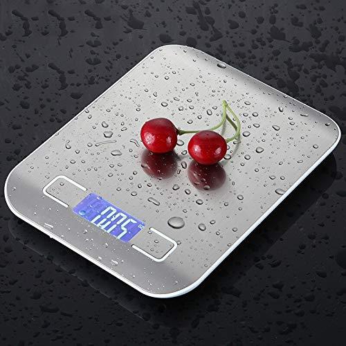 KEKEYANG 5kg / 10kg Básculas de Cocina portátiles Precise Electronic Digital Escala de Bolsillo Escala de Peso de la Escala de la Cocina de la Escala de la Cocina Herramienta de medición Digital