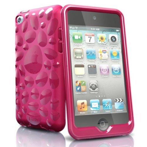 iSkin Pebble f/iPod touch 4G Funda Rosa - Fundas para mp3/mp4 (Funda,...