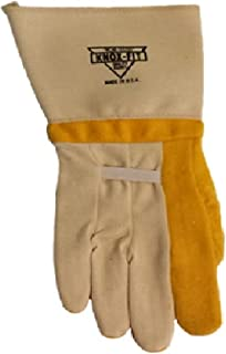 Knoxfit 679 Iron Workers Gloves Long Cup.Size-Large 12 Pairs. Made in U.S.A.
