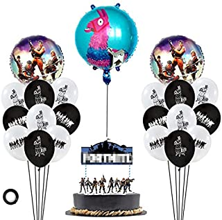 Decembre Video Game Party Supplies Includes Cake Topper
