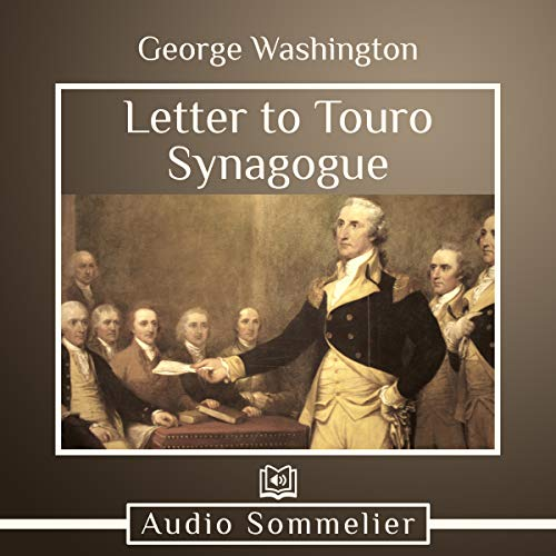 Letter to Touro Synagogue cover art