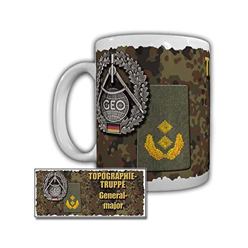 Mugg topografietgrupp generalmajor militär ståstol WB 3 4 5 6 7#29991