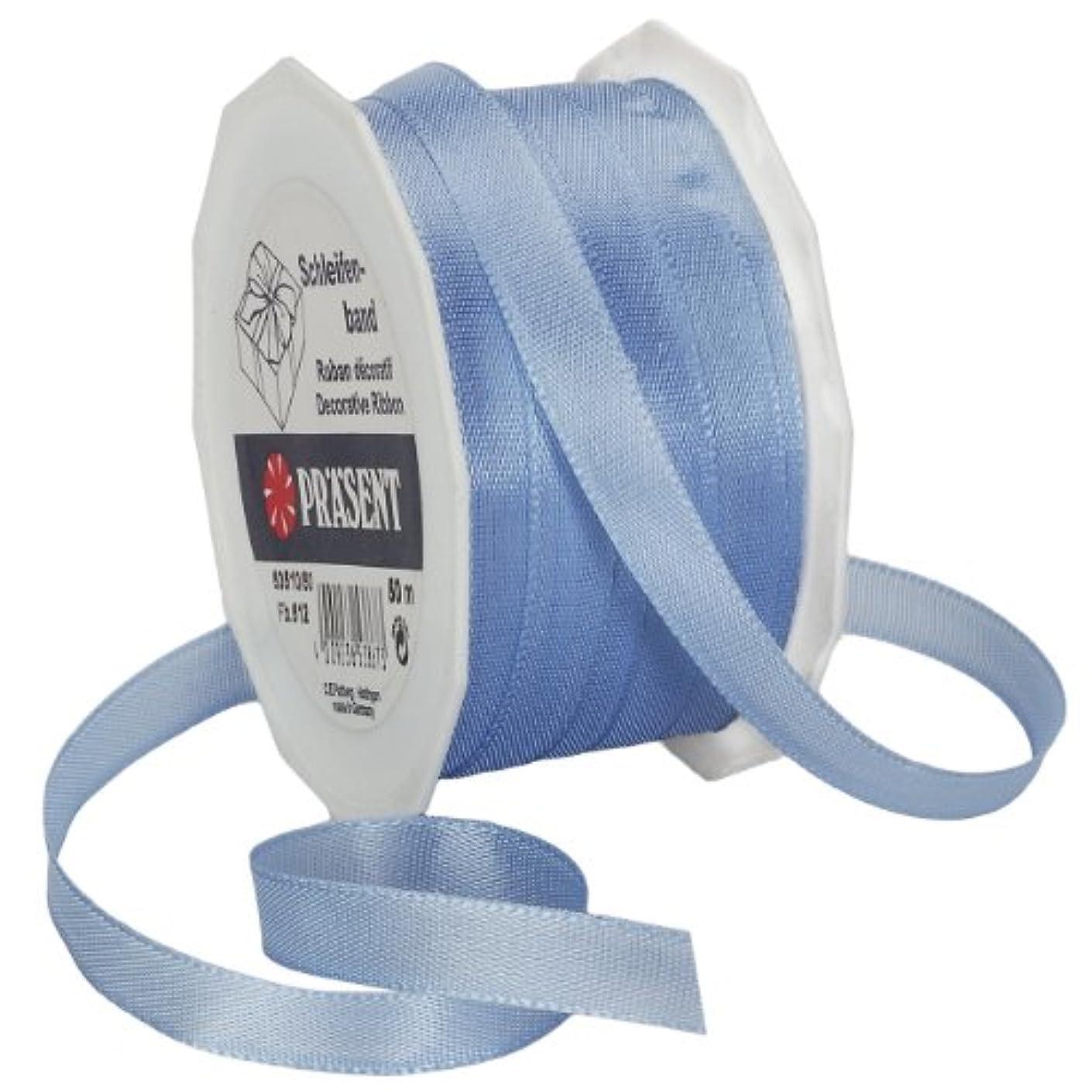 Morex Ribbon Europa Taffeta Ribbon Spool, 3/8-Inch by 55-Yard, Light Blue