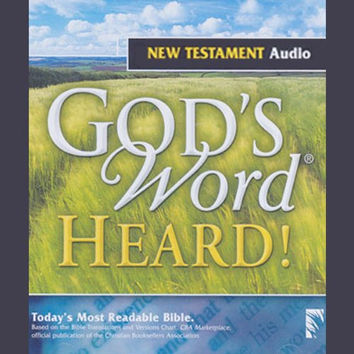 God's Word Heard! audiobook cover art