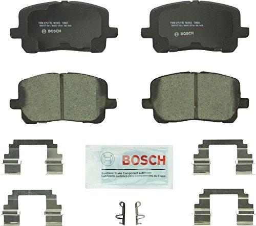 Bosch BC923 QuietCast Premium Ceramic Disc Brake Pad Set For: Pontiac Vibe; Toyota Corolla, Matrix, Front