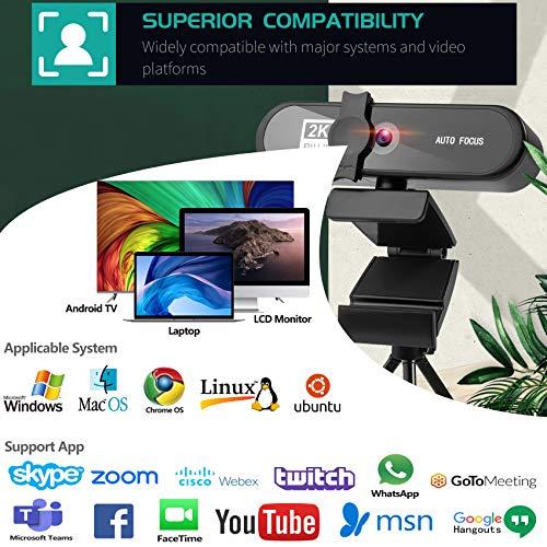 Aode 2k Webcam - Hohe Komptabilität