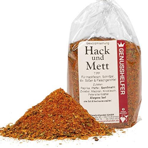 Hack- und Mettgewürz Frikadellen Gewürzmischung 100 Gramm gemahlen, ohne Geschmacksverstärker & ohne Zusatzstoffe - Bremer Gewürzhandel
