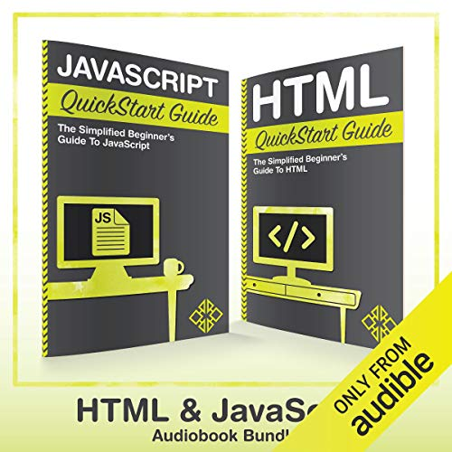 HTML and JavaScript QuickStart Guides audiobook cover art