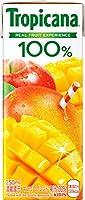 キリン トロピカーナ 100%ジュース マンゴーブレンド 250ml紙パック×24本入×3ケース(72本)