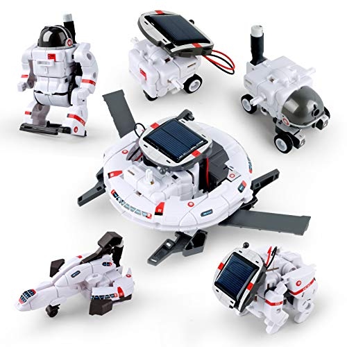 LVHERO STEM Projects | 6-in-1 Solar Robot Toys, DIY Learning Education Science Experiment Kits for...