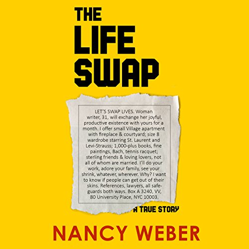 The Life Swap audiobook cover art