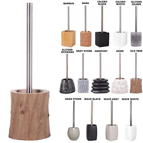 Sanilo WC Bürste, viele schöne WC-Bürsten zur Auswahl, hochwertige Qualität, Elegantes Design (Old Tree)