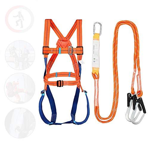 GJXJY Arnes anticaidas Completo, Construcción Seguridad Kit arnés anticaídas para Trabajadores de la construcción, carpinteros, Pintores, techadores
