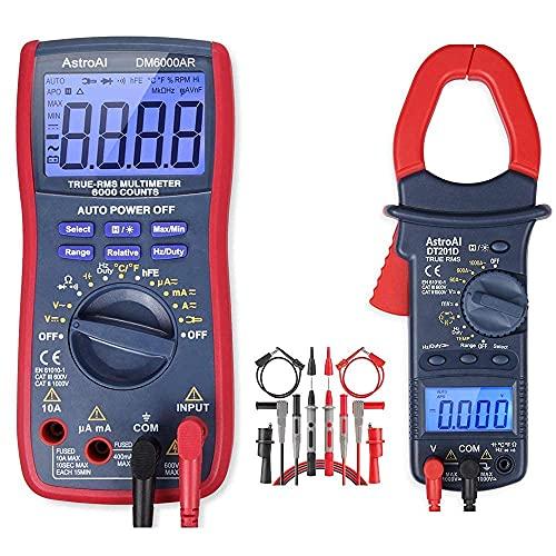 AstroAI Digital Clamp Multimeter