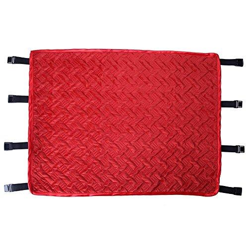Domybest Intérieur Extérieur Jardin Maison Cuisine Bureau Canapé Chaise Siège Souple Coussin Pad(Rouge)