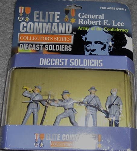 Elite Comhommed Collector's Series  General Robert E. Lee, Army of the Confederacy - Diecast Soldiers by Elite Comhommed